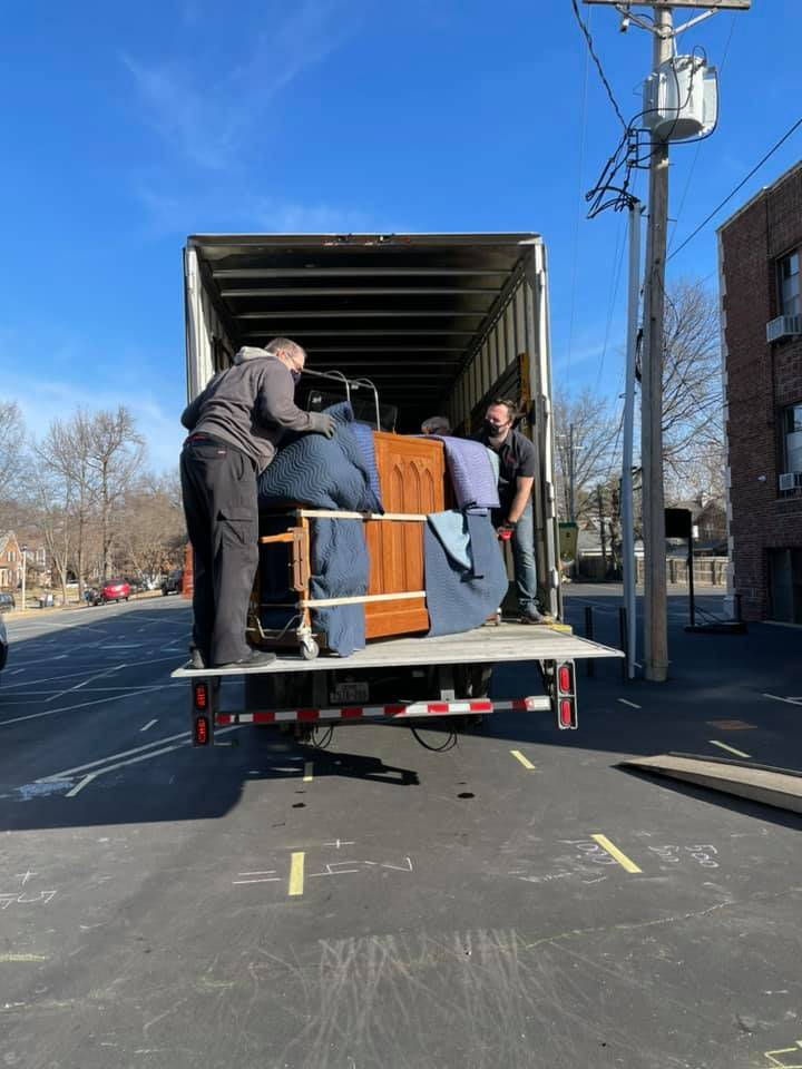Unloading the truck- console 1