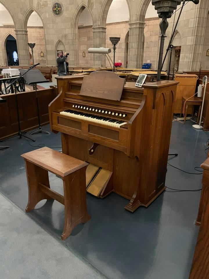 Parlor organ will soon be retired for the St. Joseph's Chapel